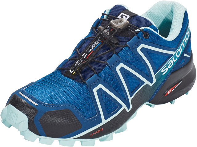 Salomon Speedcross 4 Schoenen Dames, poseidon/eggshell blue/black
